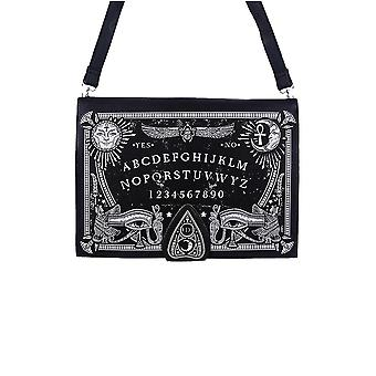 Restyle - ouija board bag - occult purse - black