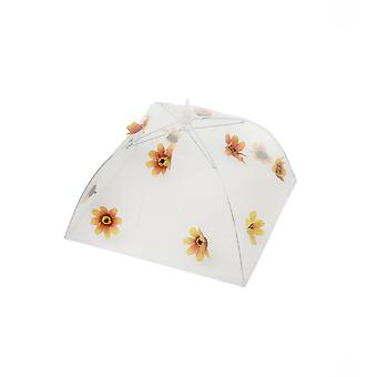 Epicurean Orange Flower Small Food Umbrella