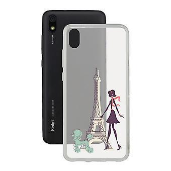 Capa móvel Xiaomi Redmi 7a Contact Flex France TPU
