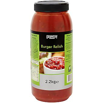Country Range Burger Relish