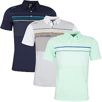 Ping Collection Mens 2020 Spencer Short Sleeve Wicking Golf Polo Shirt