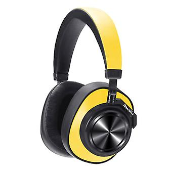 Bluedio T7 Wireless Headset Bluetooth Wireless Stereo Headphones Gaming Yellow