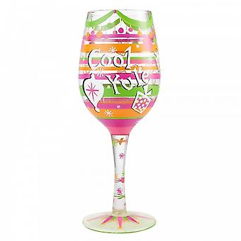 Lolita Cool Yule Wine Glass
