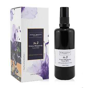 No. 2 citrus rhapsody toner mist 100ml/3.4oz