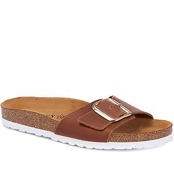 Jones Bootmaker Naisten nahka muuli sandaali