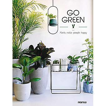 Go Green - Plants make People Happy - 9788417557010 Book