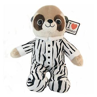 Baby Meerkat In Zebra kleding 25 cm pluche