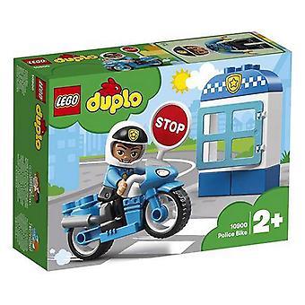 Police Motorbike Duplo Lego 10900