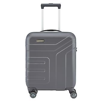 travelite Vector Handbagage Trolley S, 4 wielen, 55 cm, 40 L, grijs