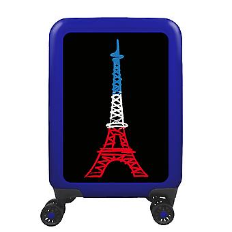 myTrolley Paris S, 4 wheels, 55 cm, 32 L, blue