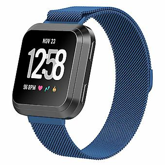 For Fitbit Versa 2/Versa/LITE Strap Milanese Wrist Band Stainless Steel Magnetic[Large (7.1