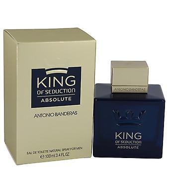 King Of Seduction Absolute Eau De Toilette Spray By Antonio Banderas 3.4 oz Eau De Toilette Spray