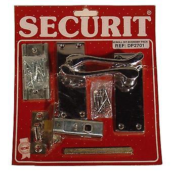 Securit Chrome Scroll Internal Pack