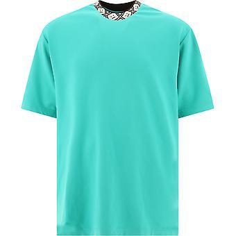 Acne Studios Cl0072jadegreen Men-apos;s Green Viscose T-shirt