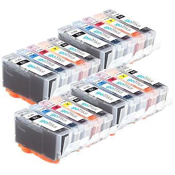 4 conjuntos compatíveis de 5 hp 364 (HP364XL) cartuchos de tinta de impressora