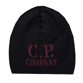 Accessories C.P. Company Jacquard Beanie in Black