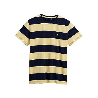 Gant Men&s Block Stripe T-Shirt Regular Fit