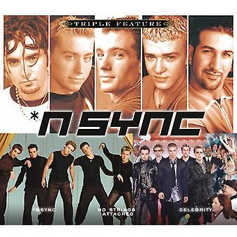 N Sync - Triple Feature: N Sync [CD] USA import