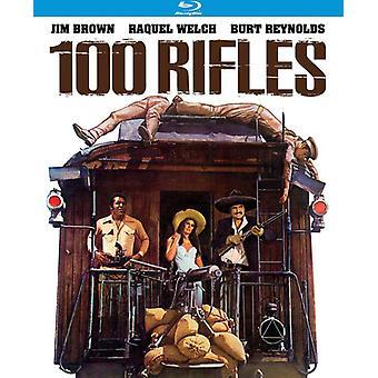 100 Rifles (1969) [Blu-ray] USA import