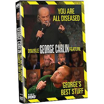 George Carlin - George's Best Stuff/You Are All Diseased [DVD] USA import