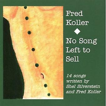Fred Koller - No Song Left to Sell [CD] USA import