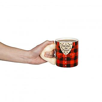 BigMouth Inc. BigMouth Inc Channel The Flannel Mug