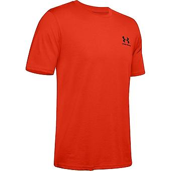 Under Armour Sportstyle Left Chest SS 1326799856 universal all year men t-shirt