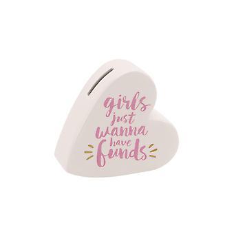 CGB cadeaux filles veulent avoir fonds tirelire en céramique
