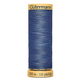 Gutermann 100% naturlig bomuldstråd 100m hånd- og maskinfarvekode - 5624