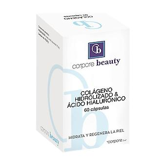 Hydrolyzed Collagen and Hyaluronic Acid 60 capsules of 725mg
