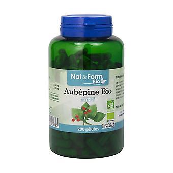 Organic hawthorn 200 capsules