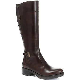 Nero Giardini Leather Knee High Boot