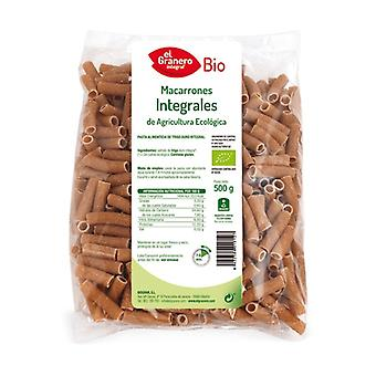 Organic Whole Macaroni 500 g