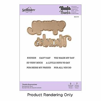 Spellbinders Thanks Expressions