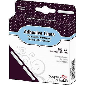 Scrapbook Adhesives Adhesive Lines (200pcs) (01305)