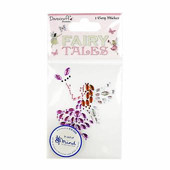 Dovecraft Fairy Tales Fairy Gem Sticker