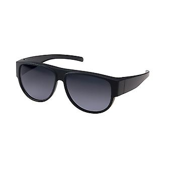 Sunglasses Unisex black with grey disc VZ0030A