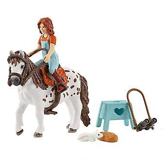 Schleich Horse Club - Mia och Spotty