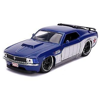 Cap America Winter Soldier 1970 Ford Mustang 1:32 Hollyd Rd