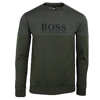 Hugo boss men's green tracksuit sweatshirt