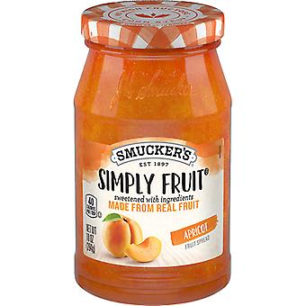 Smucker ' s gewoon fruit abrikoos fruit sprei