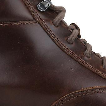 Clark&s Norsen Mid Dark Tan Leather 26127827 Mężczyźni&s