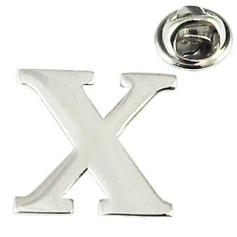 Ties Planet Alphabet Lettre X Revers Pin Badge