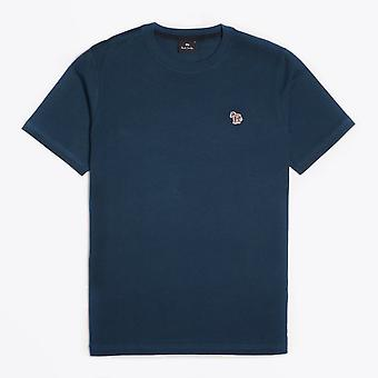 PS Paul Smith - Puuvilla Seepra Logo T-paita - Valkoinen