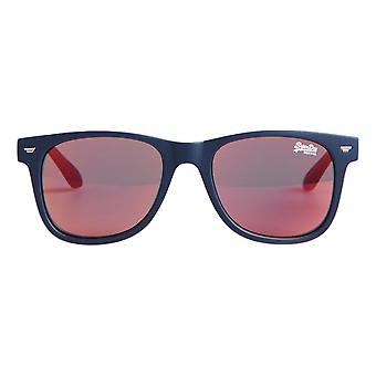 Superdry SDR Superfarer Sunglasses - Rubberised Navy