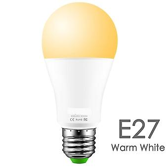 15w Smart Light Bulb Dimmable Wifi Led Lamp With E27 And  Color Changing Rgb  Operate Alexa Google Assistant