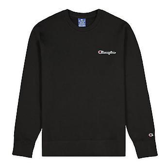 Champion kleine Skript Logo Fleece Crewneck 214781KK001 universal ganzjährig Männer Sweatshirts