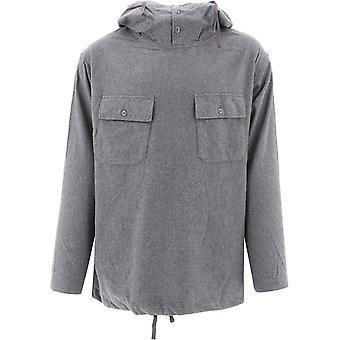 Engineered Garments 20f1a010jl002 Men's Grey Cotton Sweatshirt