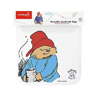 Paddington Bear Set di 2 borse zip, dimensione Sandwich