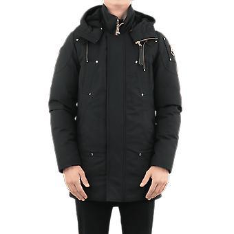 Moose Knuckles Stirling Parka Non Fur Black MK39MP261N545Outerwear